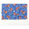 Dětské modré triko lišky detail