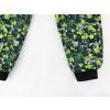 Dětské letní softshellové kalhoty puzzle detail nohavic