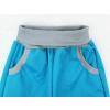 Letní tyrkysové softshellové kalhoty detail pasu2