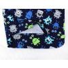 Dětské pyžamo příšerky na modré detail zadního dílu