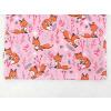 Dětské triko lišky na růžové detail