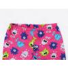 Dětské pyžamo příšerky na růžové detail krku