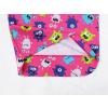 Dětské pyžamo příšerky na růžové detail nohavic