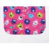 Dětské pyžamo příšerky na růžové detail pasu u kalhot