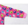 Dětské pyžamo příšerky na růžové detail rukávu
