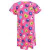 Dětské noční košile růžové příšerky detail rukávu