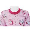 Dětské pyžamo s jednorožci - detail krku