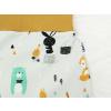Dětské turky scandi zvířátka detail