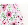Dětská sukně růžičky detail