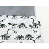 Dětské turecké kalhoty dinosauři detail