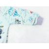 Dětská klučičí mikina letadlo detail rukávu