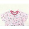 Dětská růžová noční košile myšky a balonky detail krku