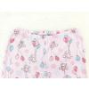 Dětská růžové pyžamo myšky a balonky detail pasu u kalhot