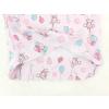Dětská růžové pyžamo myšky a balonky detail zadního dílu