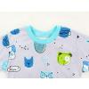 Dětské pyžamo pejsci detail krku