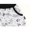 Dětské tepláky šedý vesmír detail kapsy