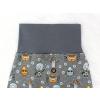Dětské baggy kalhoty roboti detail pasu