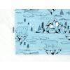 Dětské triko lední medvědi detail cedulka