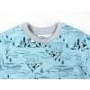 Dětské triko lední medvědi detail krku