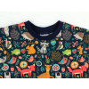 Dětské triko zvířátka detail krku