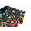 Dětské triko zvířátka detail rukávu