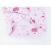 Dětské růžové pyžamo baletky detail zadního dílu2
