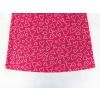 Dětská růžová noční košilka srdíčka detail