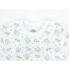 Dětské pyžamo sovičky na smetanové detail krku kopie