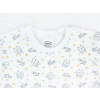 Dětská noční košile sovičky na smetanové detail krku kopie