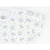 Dětská noční košile sovičky na smetanové detail rukávu kopie