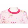 Dětské pyžamo s pejsky - detail krku
