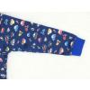 Dětské klučičí pyžamo auta a motorky detail rukávu