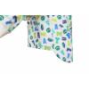 Dětské pyžamo Písmenka - detail prodlouženého zadního dílu