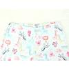 Dětské dívčí pyžamo zvířátka safari detail pasu