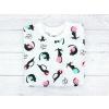 Dětská noční košile s dlouhým rukávem kočičky detail2