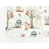 Dětský jarní podzimní nákrčník boho zvířátka detail3 kopie