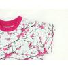 Dívčí triko s krátkým rukávem větvičky detail rukávu