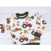 Dětská mikina traktory detail2 kopie