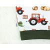 Dětská mikina traktory detail