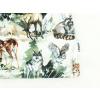 Dětská jarní a podzimní čepice luční zvířátka detail2