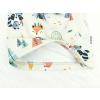 Jarní podzimní čepice zvířátka a teepee světlé detail3