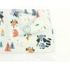 Jarní podzimní čepice zvířátka a teepee světlé detail2