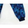 Dětské softshellové kalhoty kostičky detail nohavice kopie