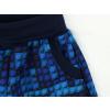 Dětské softshellové kalhoty kostičky detail kapsy kopie