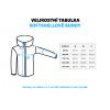 Dětská softshellová bunda dino zelená detail kapuce