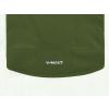 Dětská softshellová bunda dino zelená detail garáže na zip