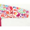 Dětská softshellová bunda ptáčci na růžové detail rukávu