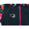 Dětská softshellová bunda zvířátka detail hlavní nažehlovačky