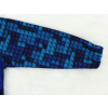 Dětská softshellová bunda stavebnice detail rukávu