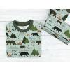 Dívčí triko s krátkým rukávem les detail3